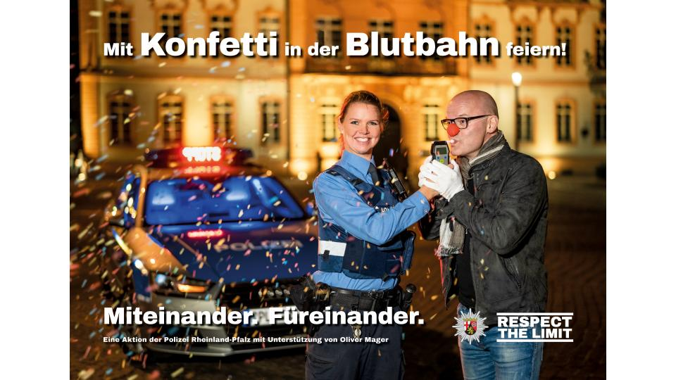 Fastnachts-Kampagne 2019: Mit Konfetti in der Blutbahn feiern! Miteinander. Füreinander.