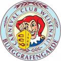 Logo Carneval-Club Weisenau 1948 e.V. -Burggrafengarde-
