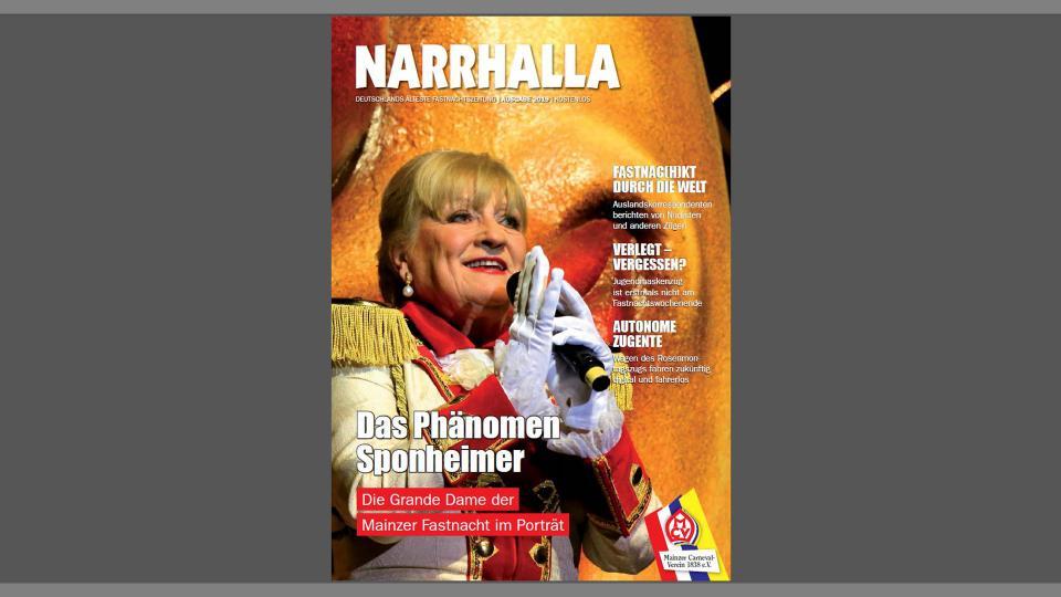 Die neue Ausgabe der Narrhalla ist da!