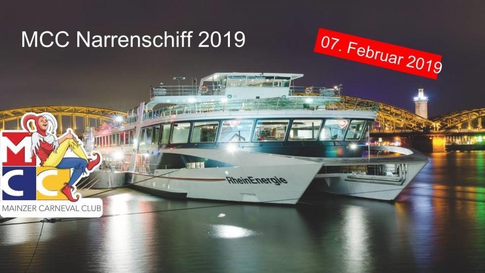 MCC Narrenschiff 2019 – Leinen los!