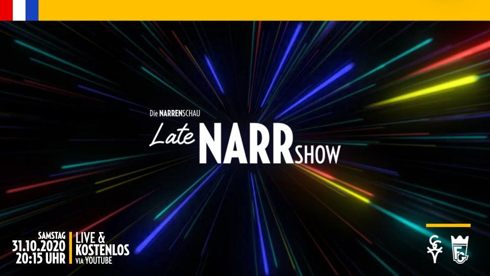 LateNARRshow - Die Narrenschau