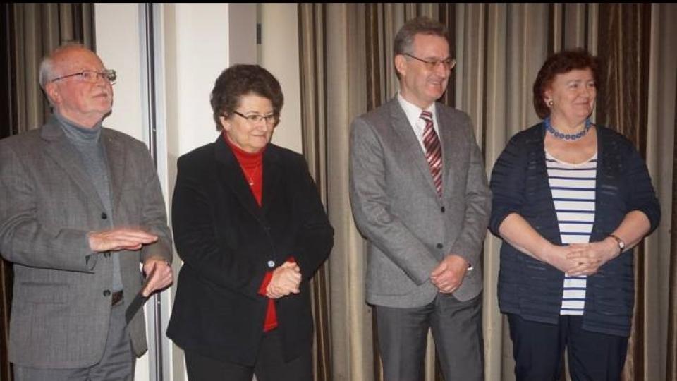 KCK ehrt Klaus Lehne für 40 Jahre Engagement im TuB
