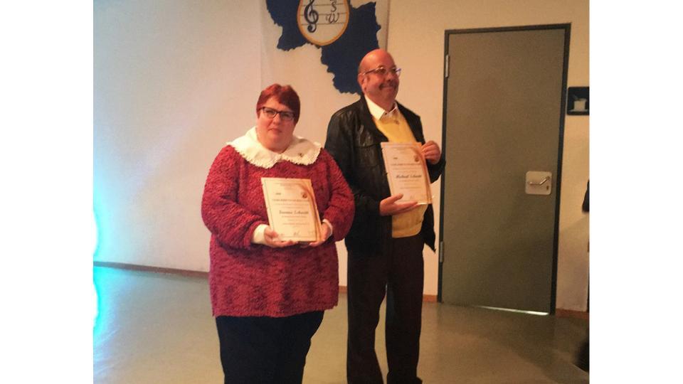 Diamantene Ehrennadel des Landesverbandes für Spielmannswesen, Rheinland-Pfalz e.V.