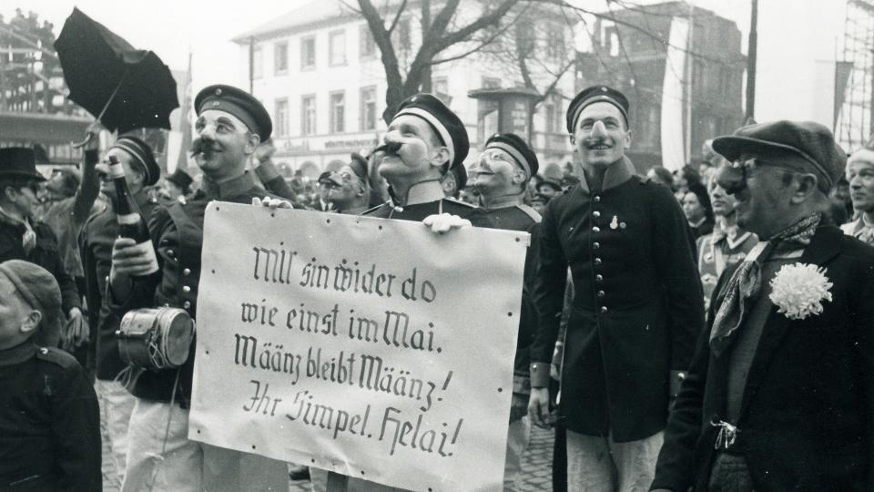 Rekrutenvereidigung im Jahr 1953