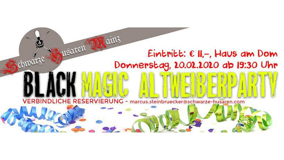 Black Magic Altweiberparty