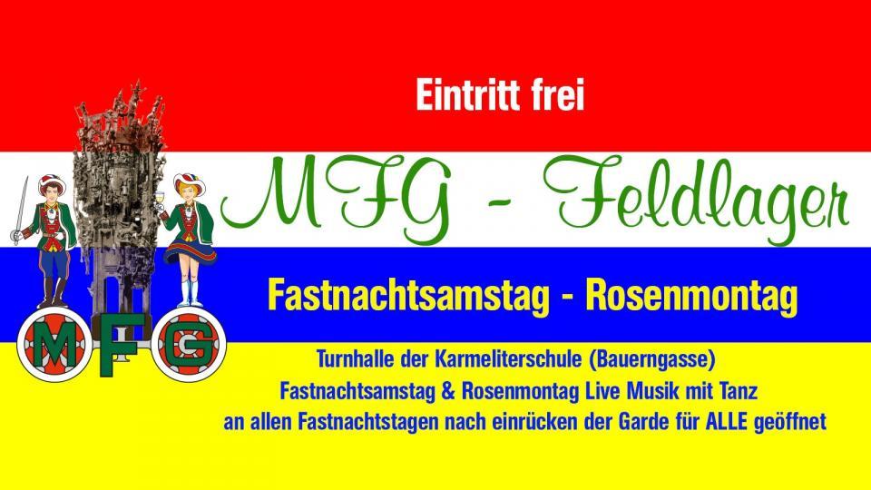 Feldlager der MFG