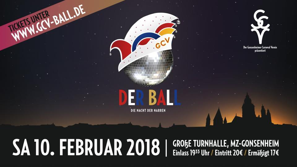 6 Jahre DER BALL - Der Kartenverkauf startet am 10.12.17 um 11:11Uhr online