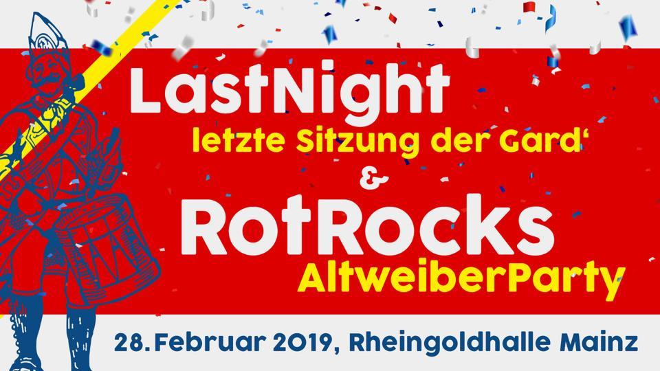 LASTNIGHT 'Die letze Sitzung der Gard' - RotRocksAltweiber