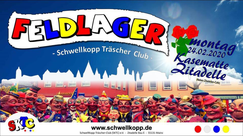 Feldlager des Schwellkopp-Träscher-Clubs