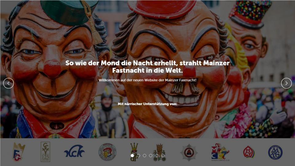 Viele Kappen, eine Seite: Erste Homepage für gesamte Mainzer Fastnacht ist online (AZ, 13.11.17)