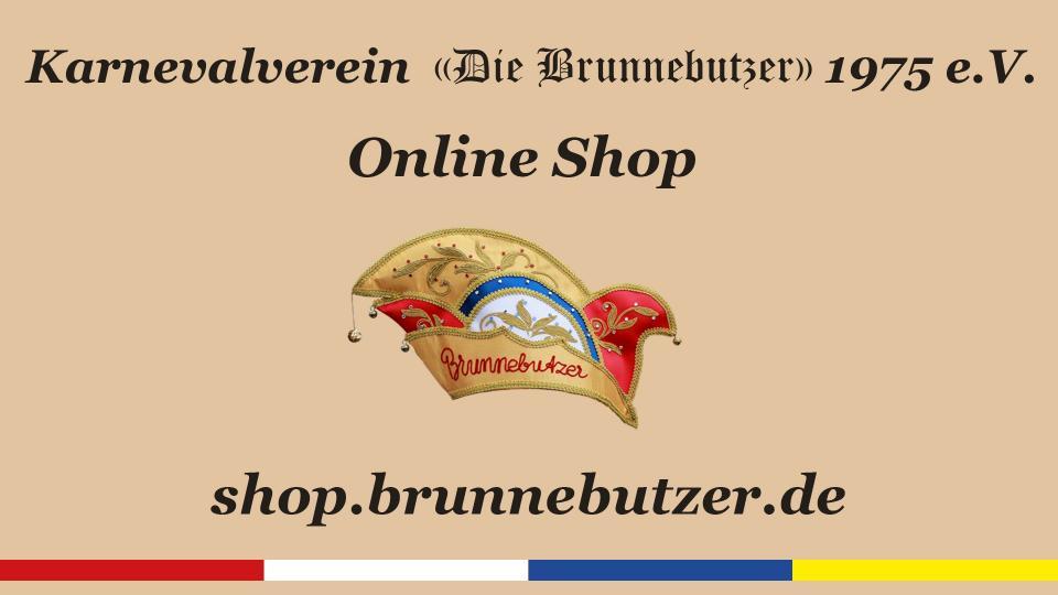 Ab sofort ist der Brunnebutzer-Online-Shop am Start!